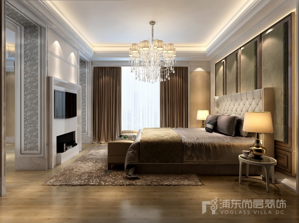 淮海名邸卧室装修设计效果图