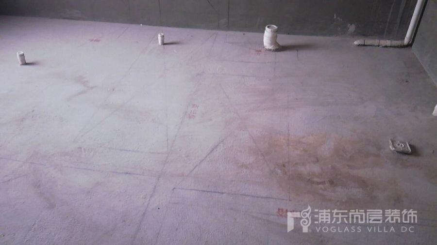 佘山高尔夫郡别墅装修项目工地