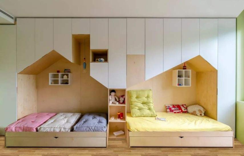 别墅装修儿童房飘窗怎么设计好看