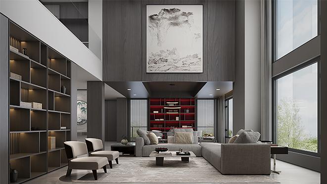 绍兴香山760平方《无问西东》现代简约风格别墅设计案例