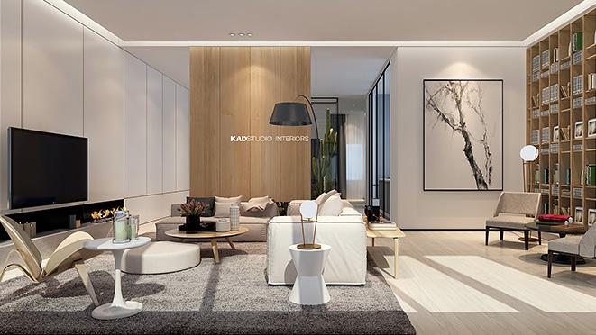 英庭名墅550平方米别墅装修设计方案